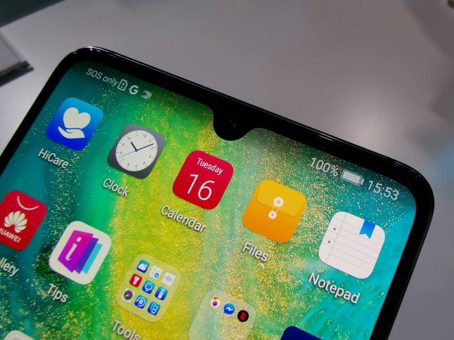 Huawei MAte 20 X pé