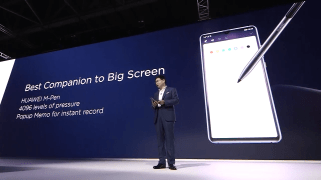 Huawei Mate 20 X stylet