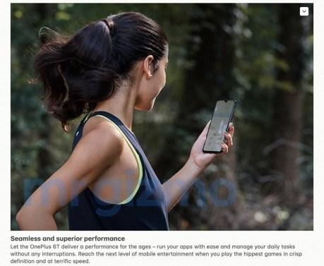 OnePlus 6T leak 3