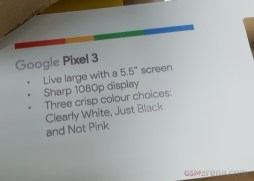 Pixel 3 GSMarena spec sheet 2