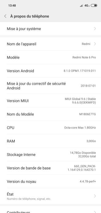 Xiaomi Redmi Note 6 Pro MIUI 9 UI screnshots (1)