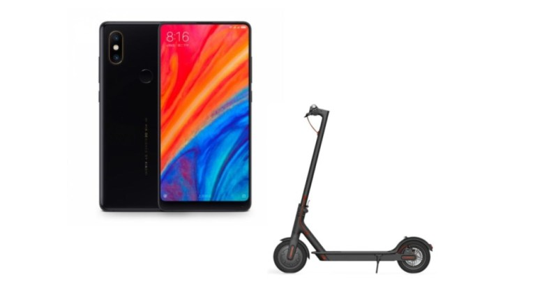 black friday le xiaomi mi mix 2s la trottinette. Black Bedroom Furniture Sets. Home Design Ideas