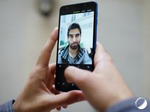 Samsung Galaxy A7 (2018) selfie