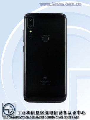 Xiaomi Redmi 7 (supposé) dos