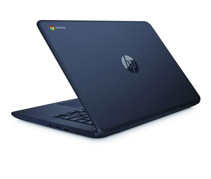 HP Chromebook 14_InkBlue__RearLeft