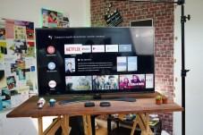 La box tourne sous Android TV