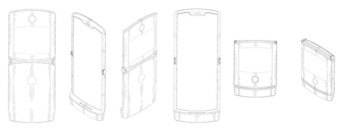 Smartphone pliable de Motorola : il aurait deux écrans, et