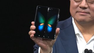 Samsung Galaxy Fold pliure