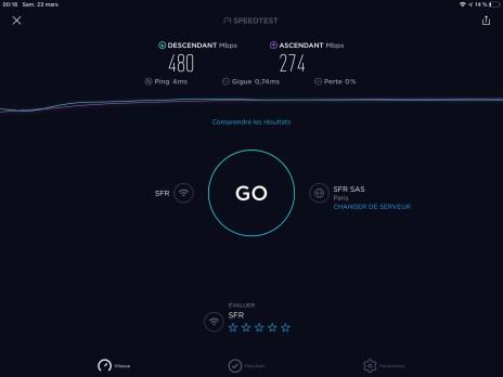 10-01 Speedtest.net iPad Pro