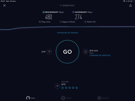 10-01 Speedtest.net iPad Pro