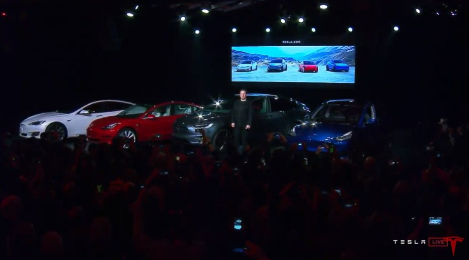 Gamme Tesla officielle