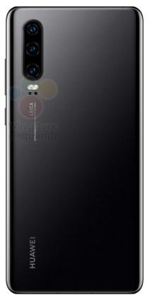 Huawei P30 noir