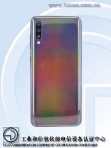 Samsung Galaxy A70 dos