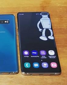 Samsung Galaxy S10+ bender