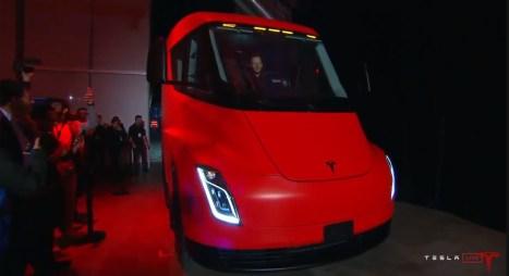 Tesla Semi officiel