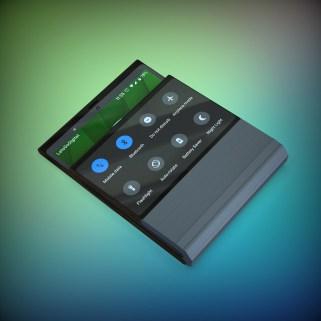Lenovo smartphone pliable plie