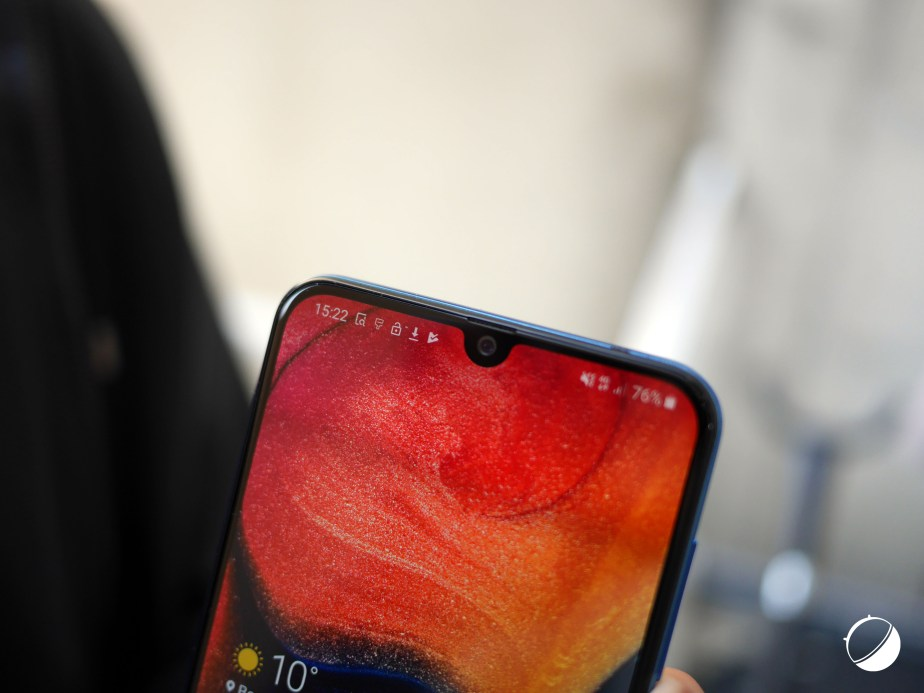 Samsung Galaxy A50 encoche