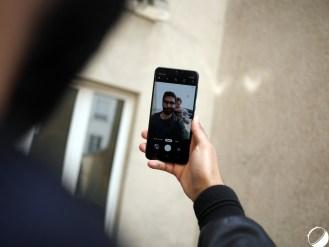 Samsung Galaxy A50 selfie