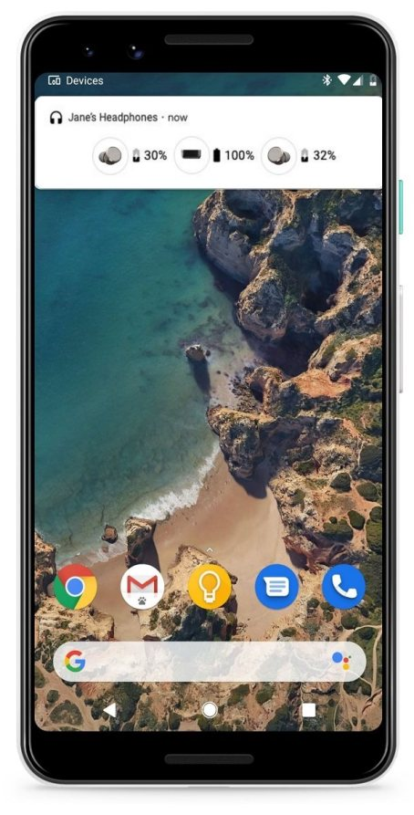 Android Q bluetooth notification