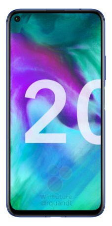Honor 20 face
