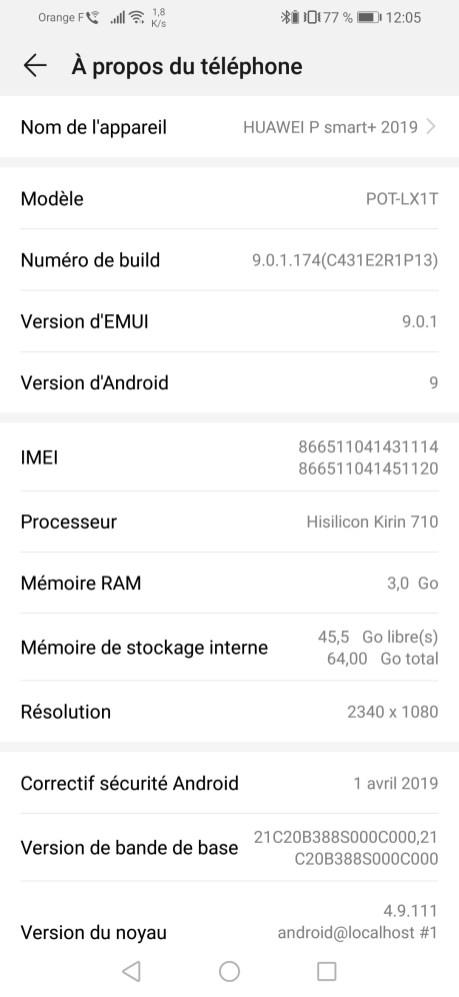 Huawei P Smart+ 2019 UI (6)