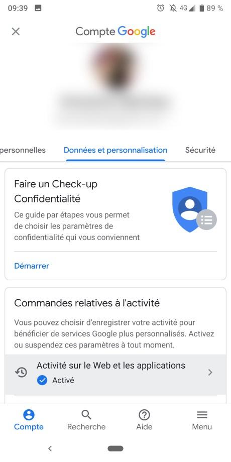 DOnnées Google 3