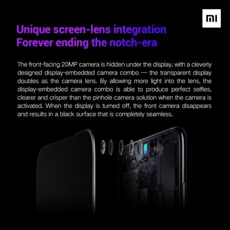 Xiaomi affichage sous écran caméra 2