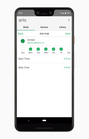 Arlo App 9