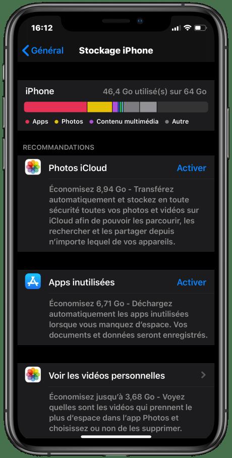 iPhone stockage vérifier (3)