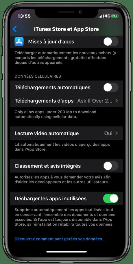 Apple iOS Libérer stockage tuto (6)