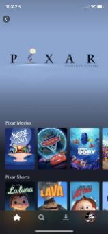 Disney Plus Android pixar