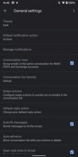 Gmail theme sombre 2
