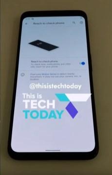 Pixel-4-Motion-Sense-Reach-to-check-phone