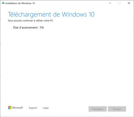 installer windows 5
