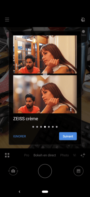 Nokia 7.2 portrait Zeiss 3