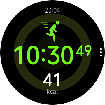 screen 20191018 230423 - Test of the Samsung Galaxy Watch Active 2: very nice and a bit awkward - FrAndroid