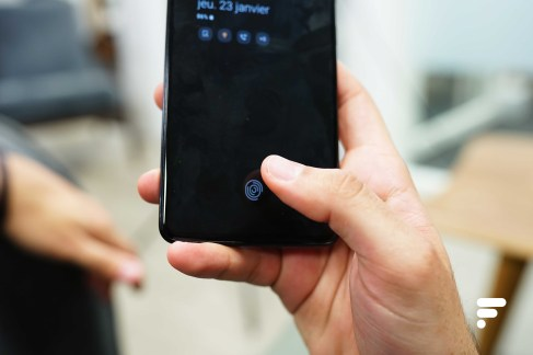 Samsung Galaxy A51 empreintes