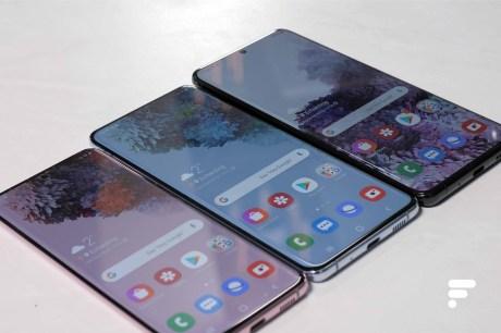 Samsung Galaxy S20 S20 Plus S20 Ultra biais
