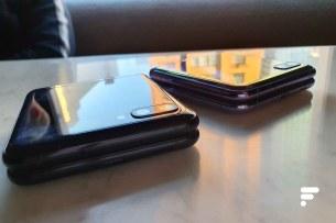 Samsung Galaxy Z Flip cote a cote bias