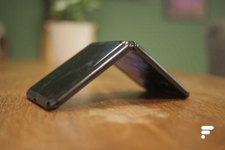 Samsung Galaxy Z Flip flipped