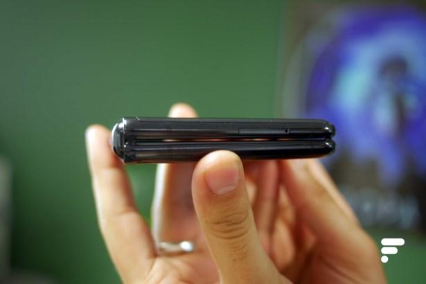Samsung Galaxy Z Flip plie ferme