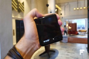 Samsung Galaxy Z Flip replié