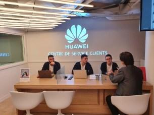 Huawei flagship store SAV close