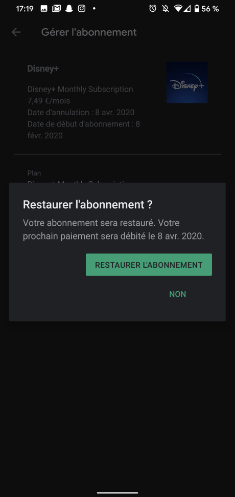 Résilier Play Store 8