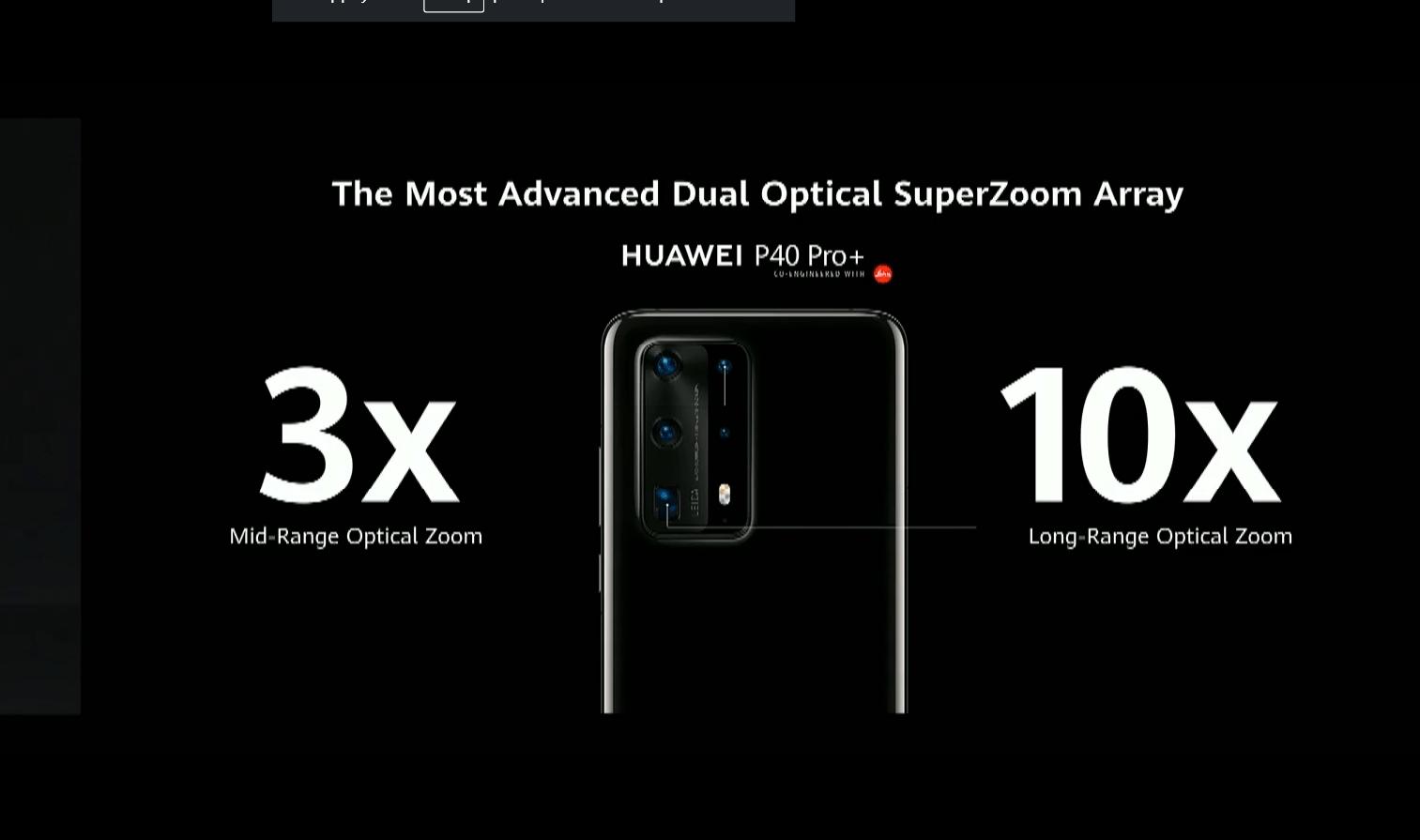 Huawei lève le voile sur sa série P40