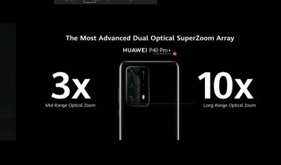 Zoom du Huawei P40 Pro+