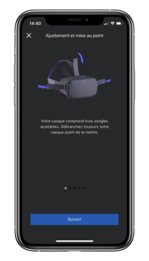 Oculus compagnon app 2