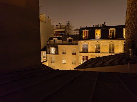 Photo du OnePlus 8 Pro avec mode nocturne