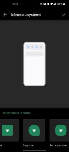 Personnalisation de l'interface du OnePlus 8 Pro