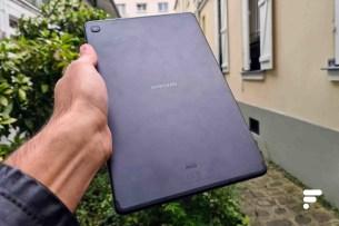 Dos de la Samsung Galaxy Tab S6 Lite